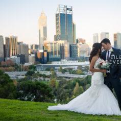 Kings park wedding anzac day sunset elopement