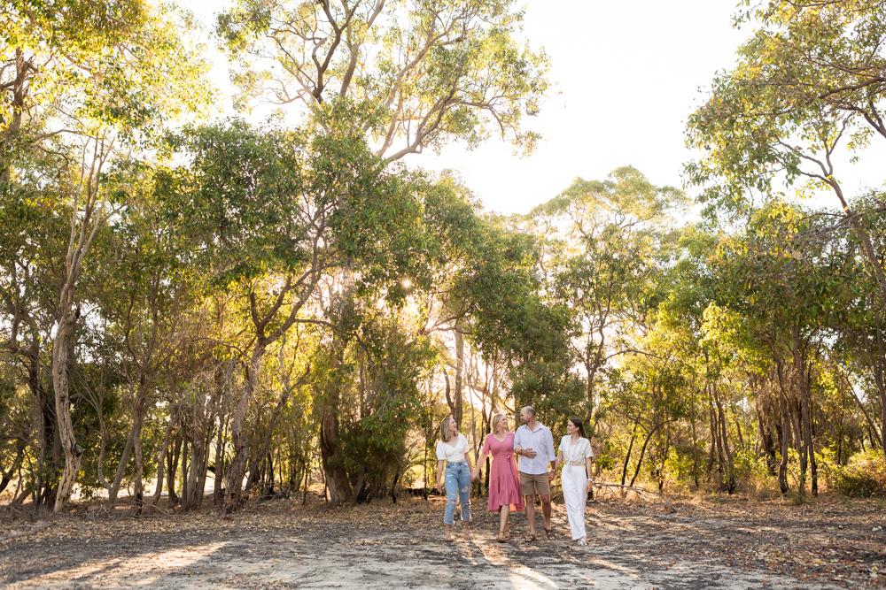 yellagonga regional park family photography session