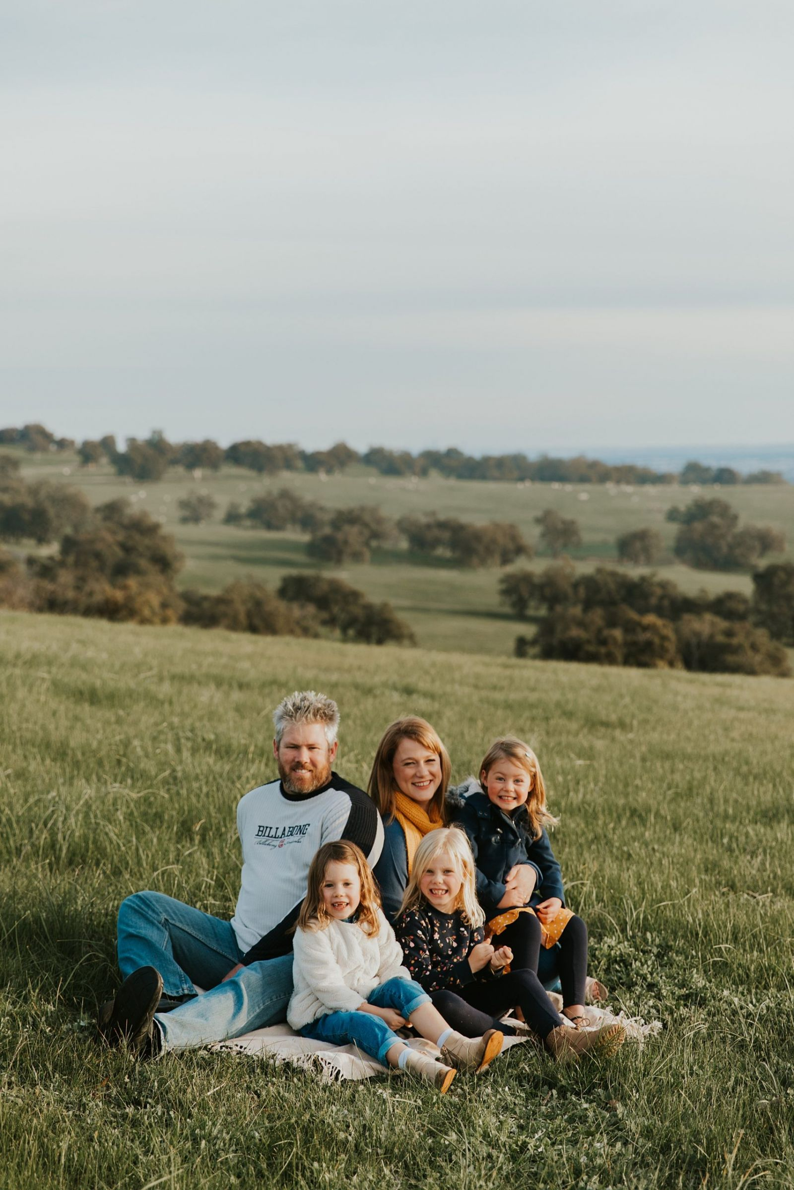 family portrait bullsbrook mustard and navy perth wa perth family photographer
